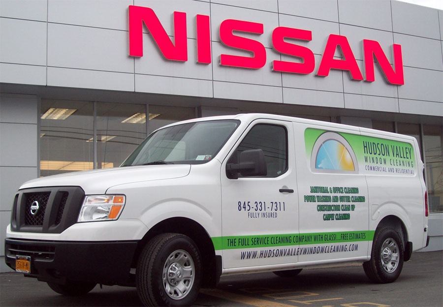 Business Vehicle Wrap NY