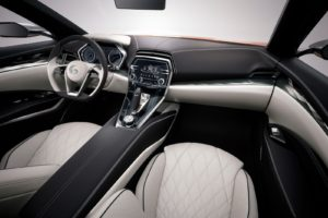 INTERIOR: Nissan Sport Sedan Concept Kingston, New York