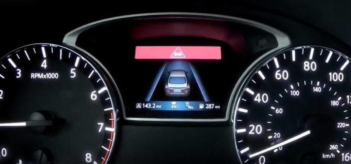 2017 Nissan Altima safety shield technologies