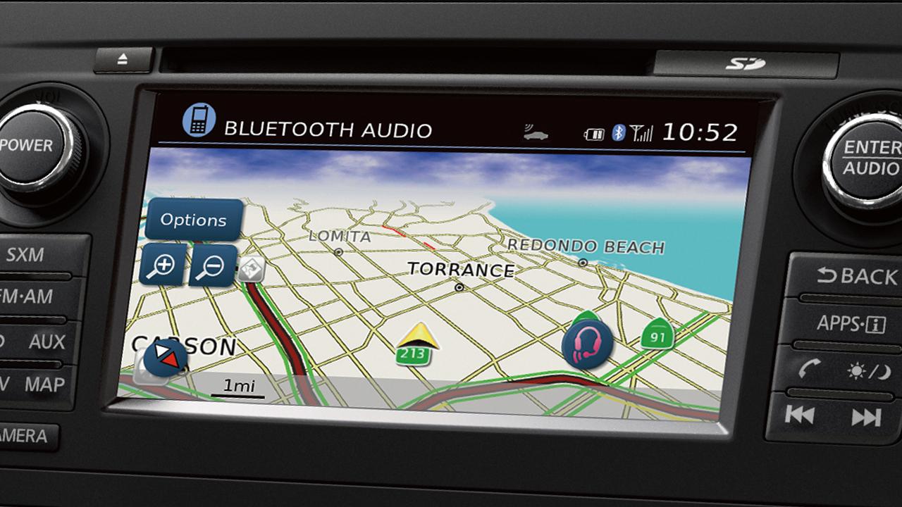 Nissan Altima Navigation