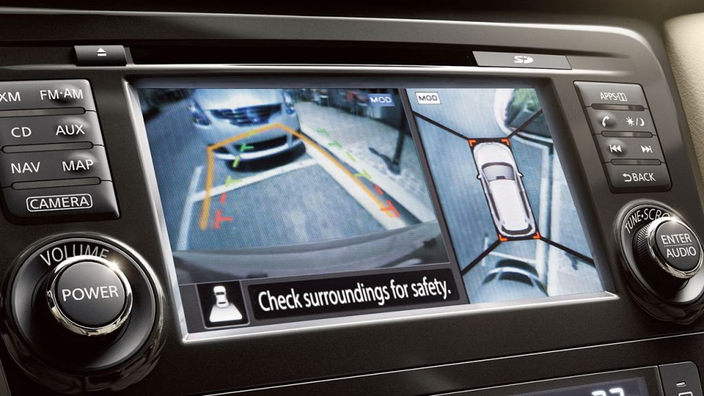 Nissan Rogue Around View Monitor