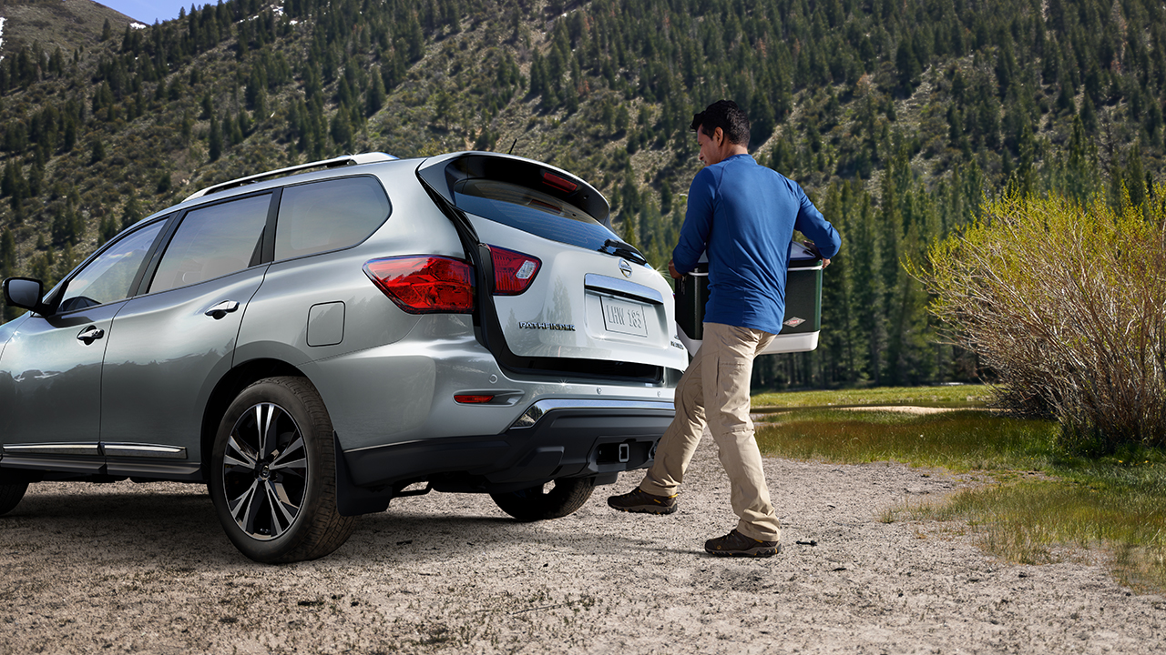 Nissan Pathfinder Motion Activated Liftgate