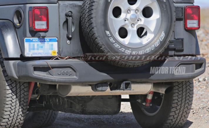 2018 Jeep Wrangler Rear New NJ