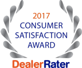 DealerRater Consumer Satisfaction Award