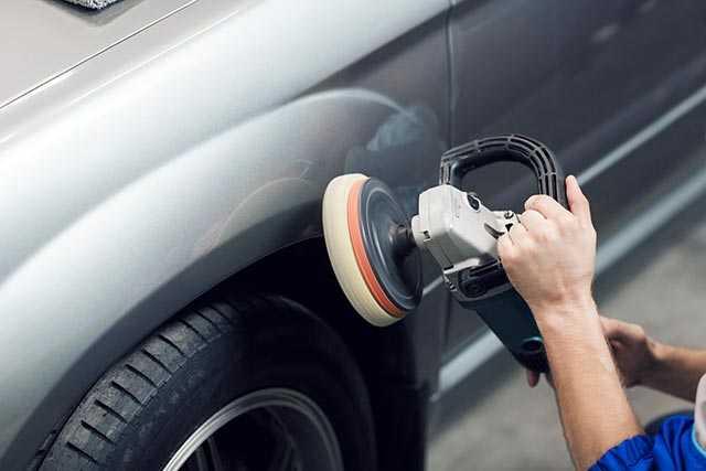 auto body car buffing