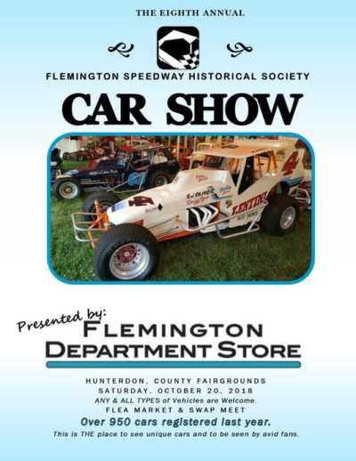 8th Annual Flemington Speedway Historical Society Car Show