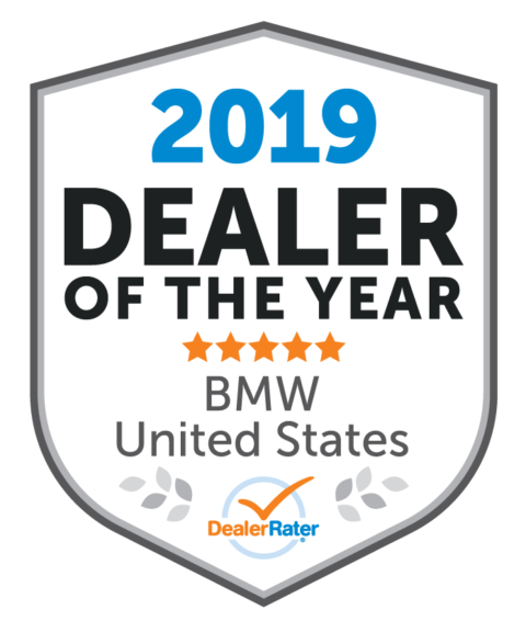 2019 DealerRater BMW Dealer of the Year