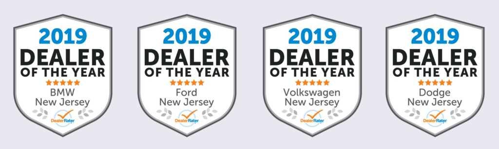 2019 DealerRater Dealer of the Year NJ
