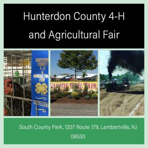 2019 Hunterdon County 4-H & Agricultural Fair: Flemington Invites You!