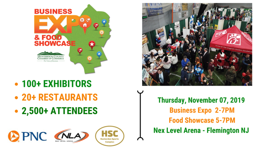 31st Annual Hunterdon County Chamber of Commerce Business and Restaurant Expo