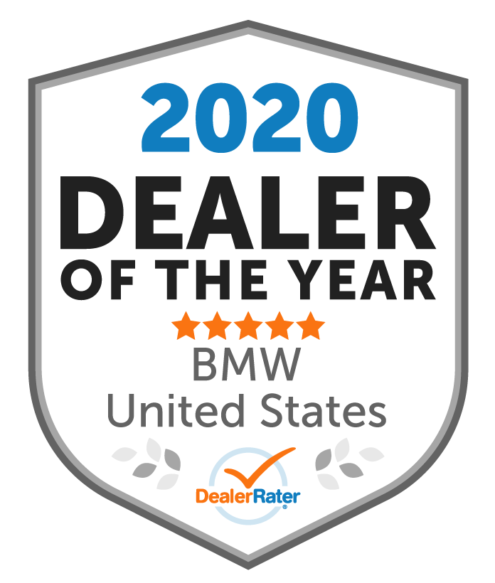 2020 DealerRater BMW Dealer of the Year