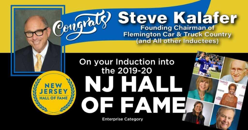 Steve Kalafer NJ Hall of Fame