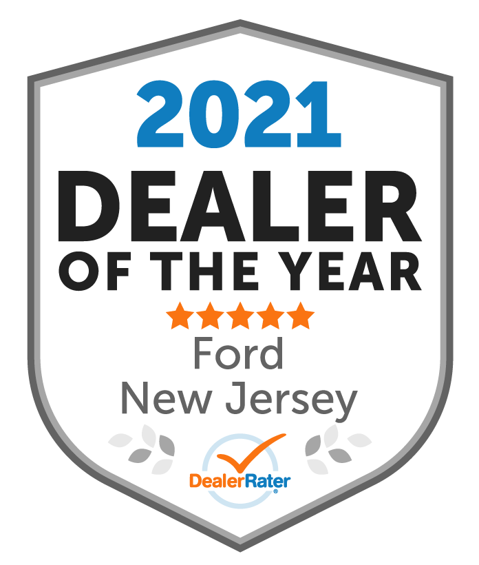 2021 DealerRater Ford Dealer of the Year NJ