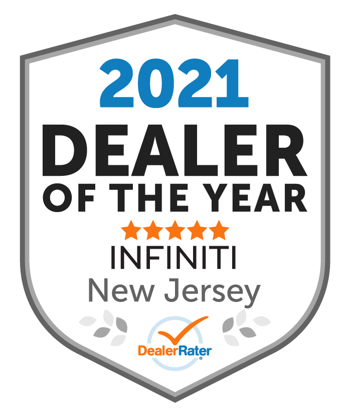 2021 DealerRater INFINITI Dealer of the Year NJ