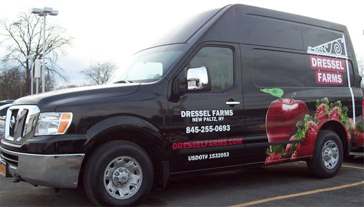 Nissan NV wrap jobs NY