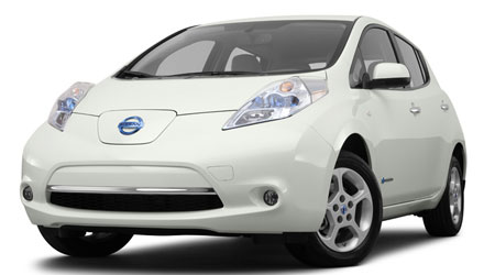 Nissan Leaf in NY