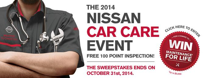 nissan car care event 2014