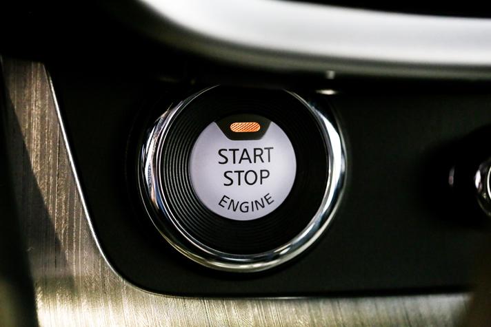 2015 Nissan Murano Keyless Start