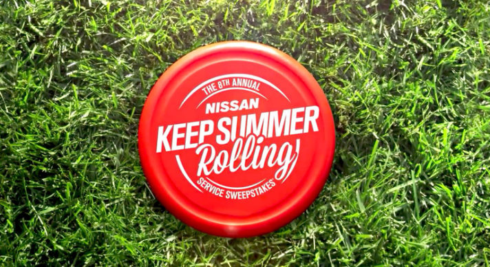 8th Annual Nissan Keep Summer Rolling Service Sweepstakes