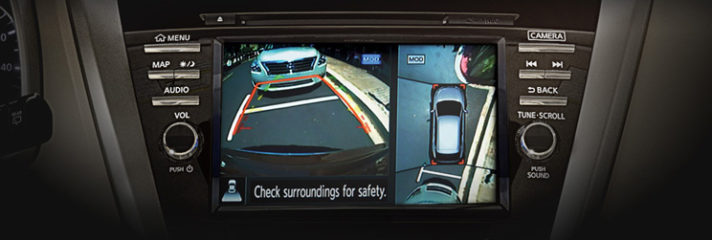 2016 Nissan Murano Around View Monitor