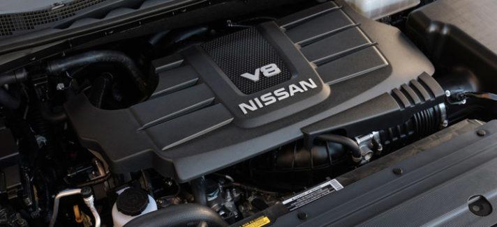 2017 Nissan Titan V8 Engine