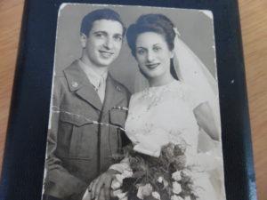 Frank J. Manfredi Lucy C. Manfredi Wedding Photo