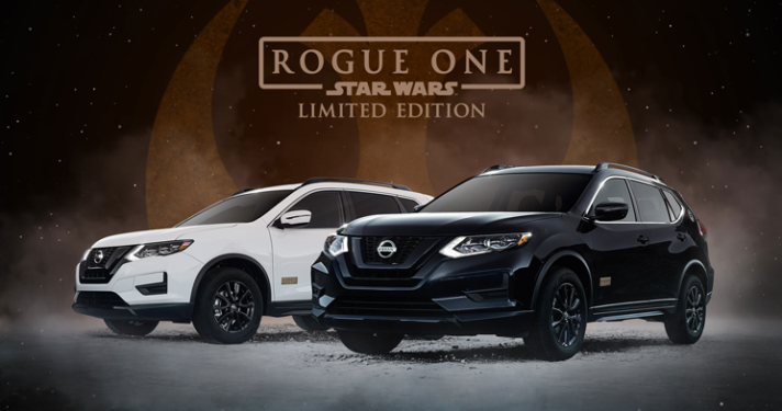 2017 Nissan Rogue One Star Wars Limited Edition Kingston