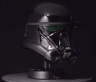 Death Trooper Collectors Helmet