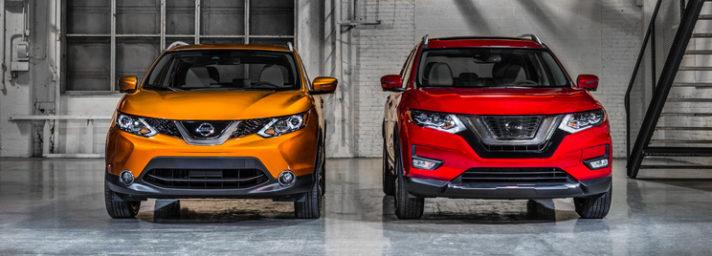 2017 Nissan Rogue Sport vs Rogue NY