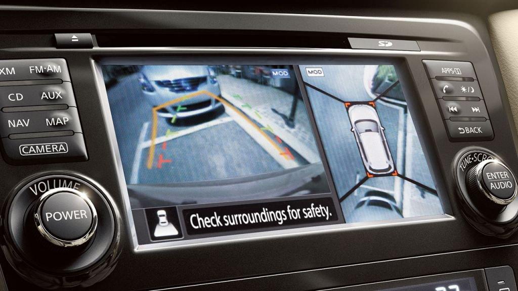Nissan Rogue Around View Monitor