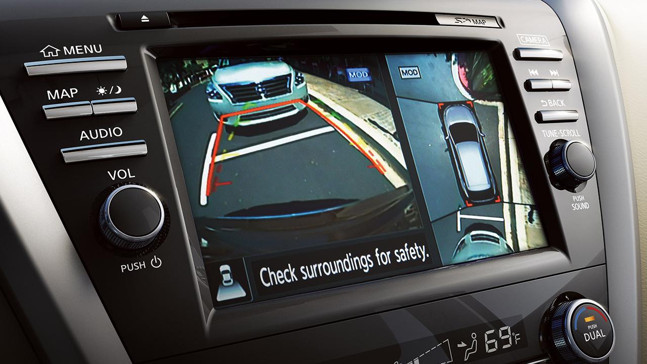Nissan Murano Around View Monitor