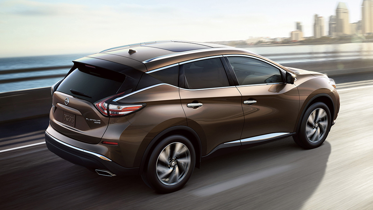 2017 Nissan Murano Brown Original Kingston Nissan