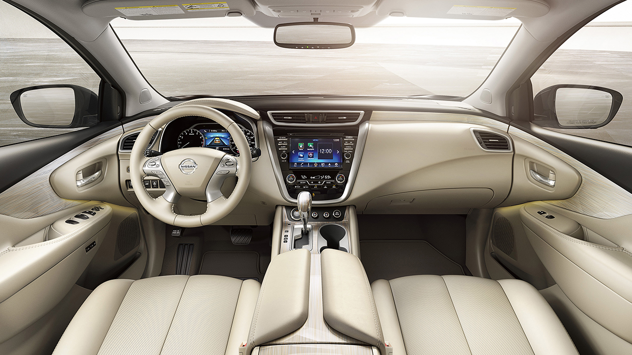 2017-nissan-murano-cream-leather-original - Kingston Nissan