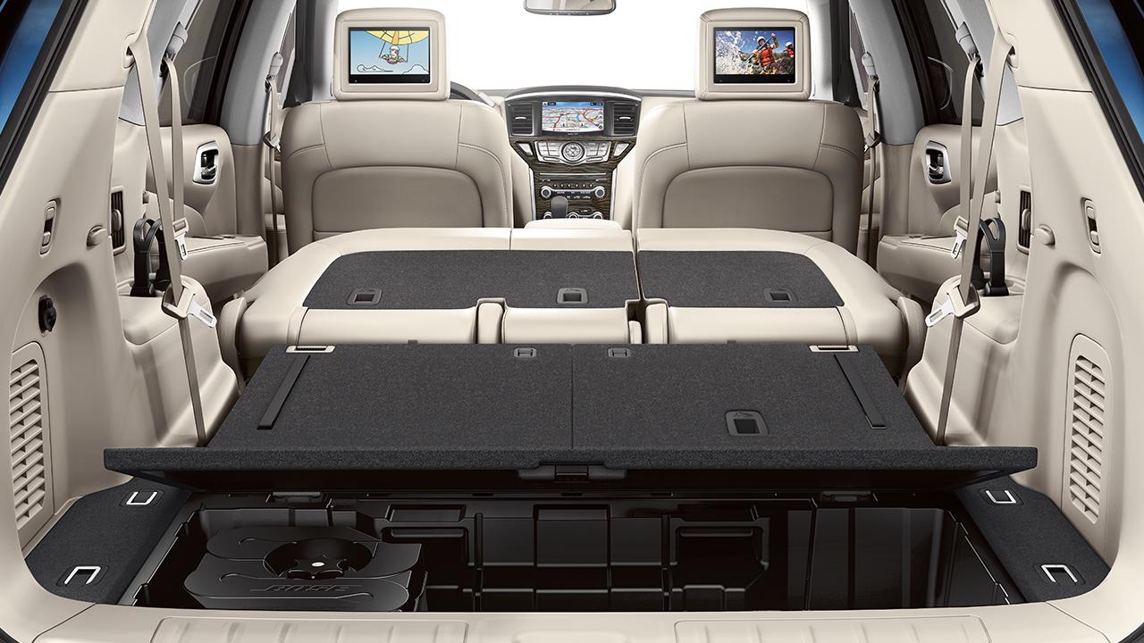 Nissan Pathfinder Cargo Storage