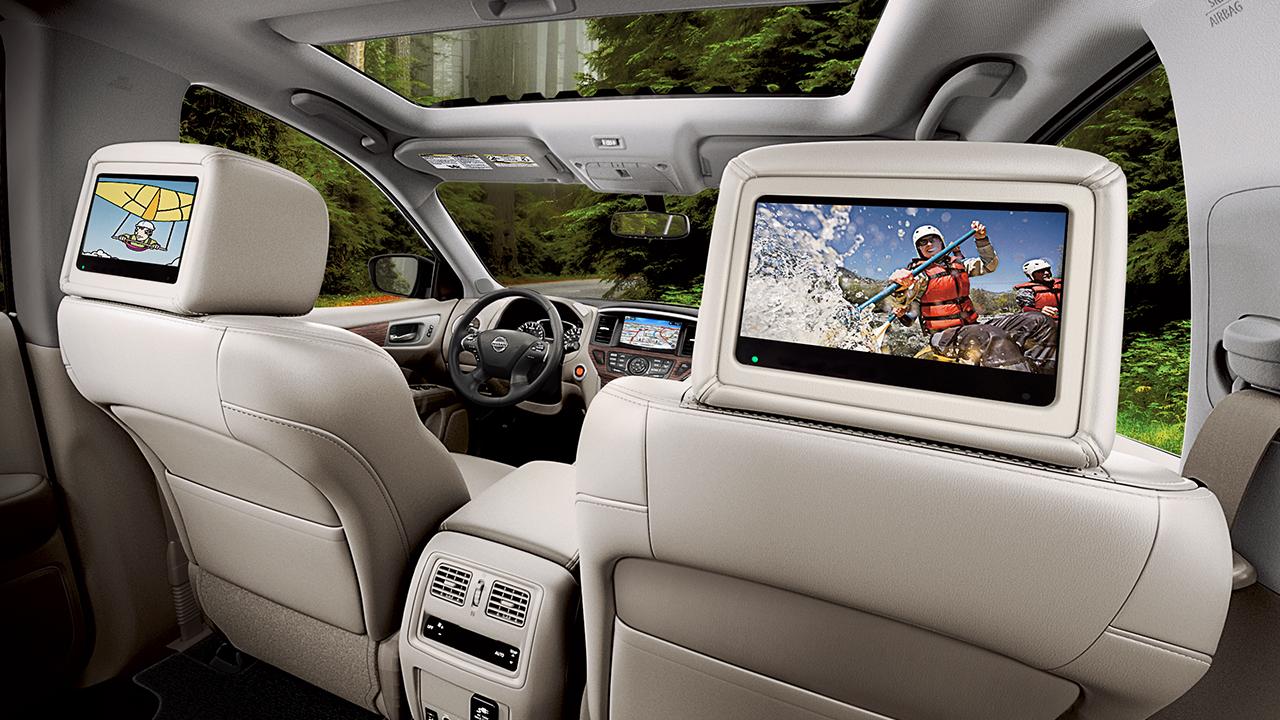 Nissan Pathfinder Rear Seat Entertainment System