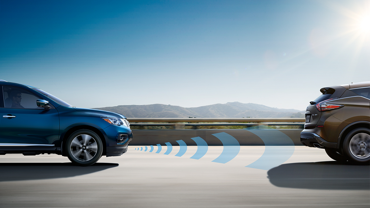 Nissan Pathfinder Forward Emergency Braking