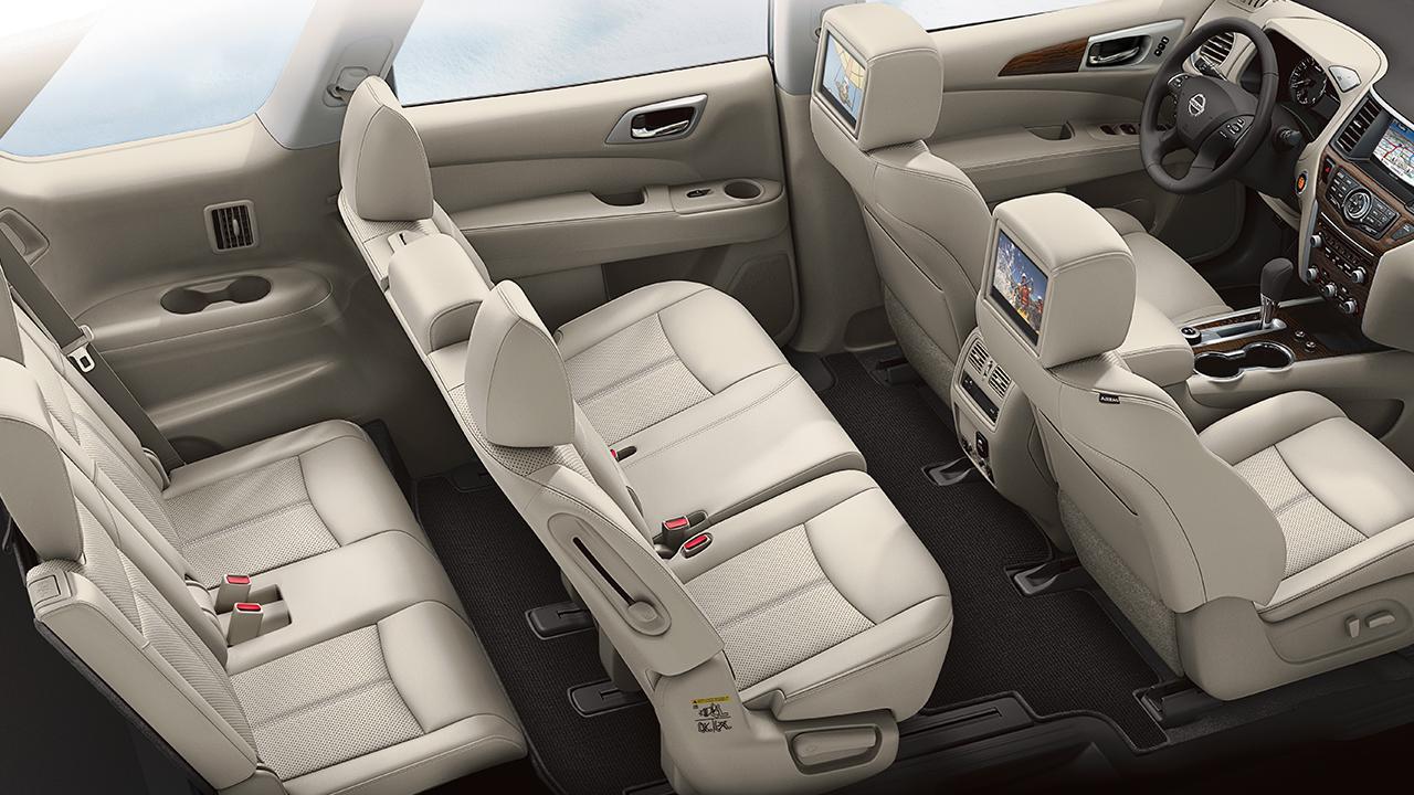 Nissan Pathfinder Interior