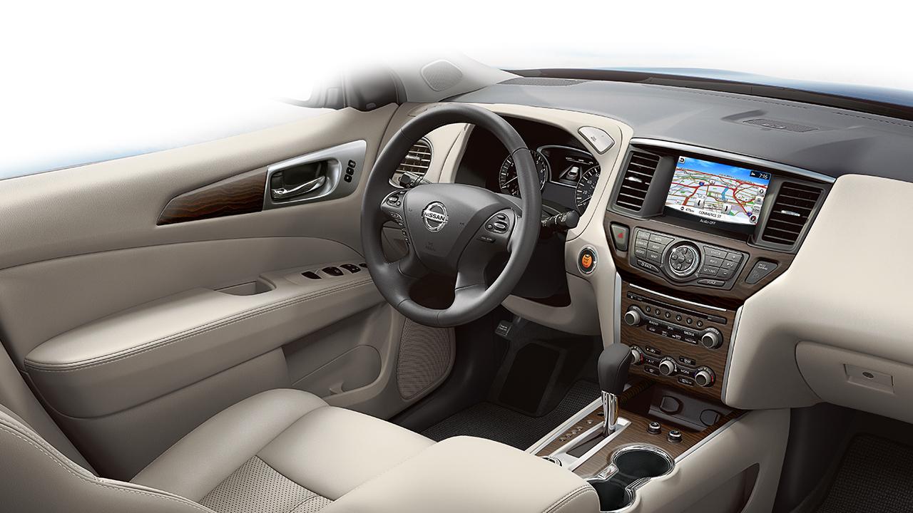 Nissan Pathfinder Navigation System
