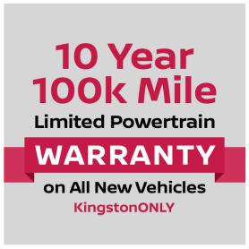 Nissan 10 year powertrain warranty