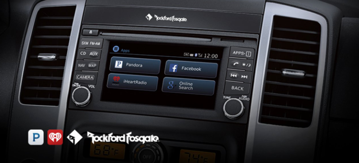 Nissan Frontier Rockford Fosgate