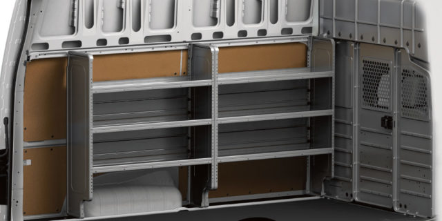 Commercial Nissan Storage Utility Packages