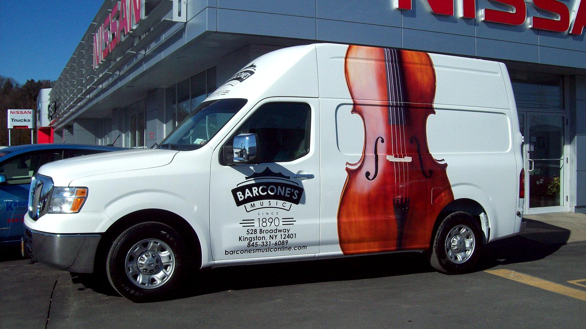 Custom Nissan NV Cargo Van NY