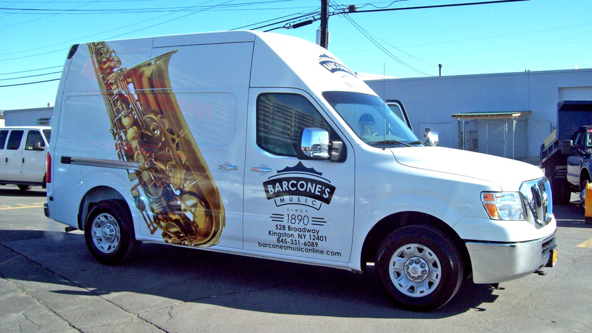 Barcones Music custom van