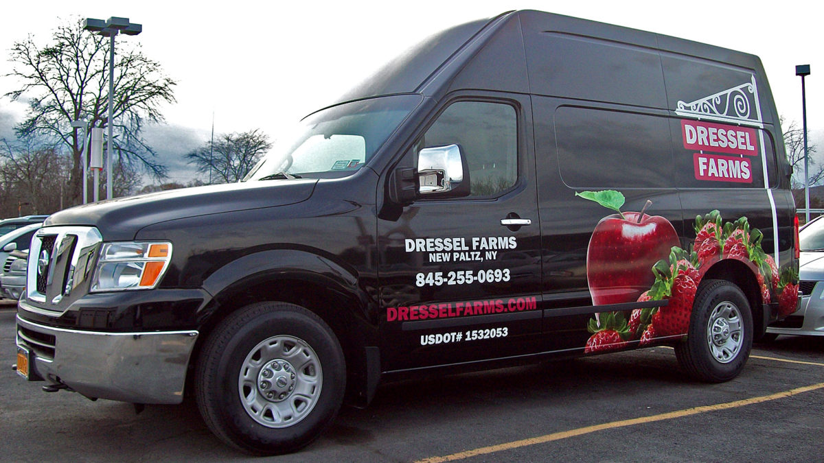 Dressel Farms custom van