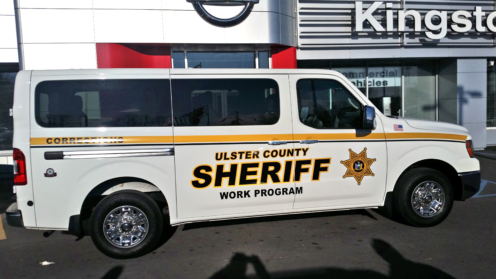 Ulster County Sheriff Work Program Custom Van