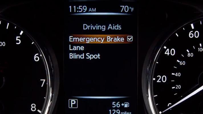 Nissan Forward Emergency Braking System