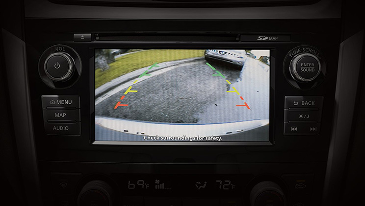 2018 Nissan Altima Rearview Camera