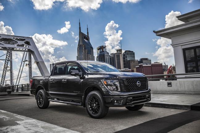 2018 Nissan Titan Midnight Edition NY