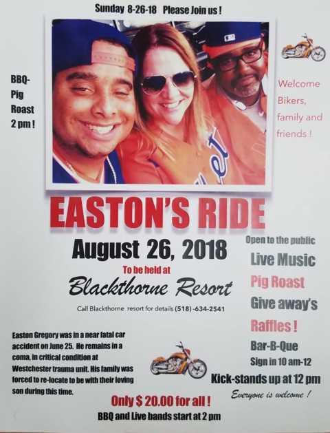 Easton Gregory Fundraiser