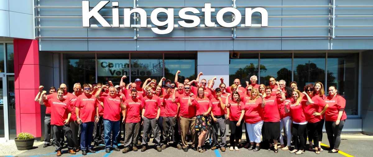 Kingston Nissan EastonStrong